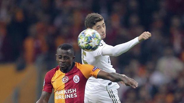 Federico Valverde tampil impresif di lini tengah Real Madrid. (