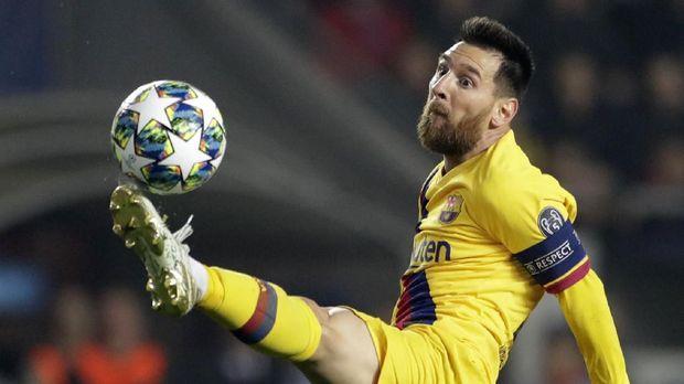Cetak Hattrick, Messi Lampaui Rekor Ronaldo