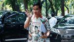 Gibran Semringah Sambangi Kediaman Megawati