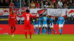 Hasil Liga Champions : Sengit! Napoli Taklukkan Salzburg 3-2