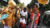 Pawai tersebut digelar guna mengkampanyekan persatuan Indonesia pascapelantikan presiden dan wakil presiden terpilih periode 2019-2024 agar tidak ada perpecahan yang dapat mengancam kesatuan Republik Indonesia.
