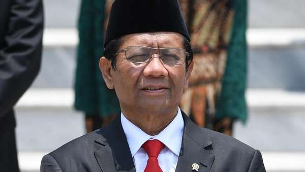Mahfud Md soal Perppu KPK: Sekarang Jadi Menteri Masa Mau Menantang