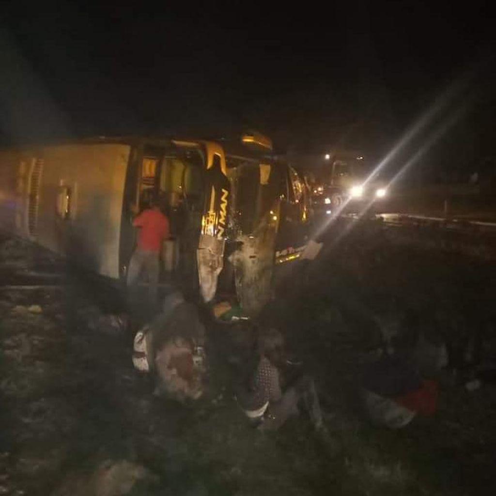 3 Tewas di Cipali, Sopir Bus Pelajar SMP Batang Diduga Mengantuk