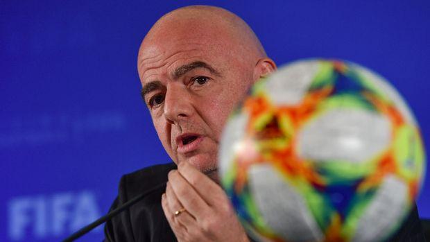 Presiden FIFA Gianni Infantino mengucapkan selamat kepada Indonesia.