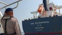 Kapal Singapura Disergap Perompak di Perairan Cilegon