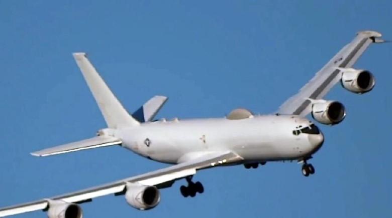 Foto: Pesawat E-6B Mercury (Youtube)