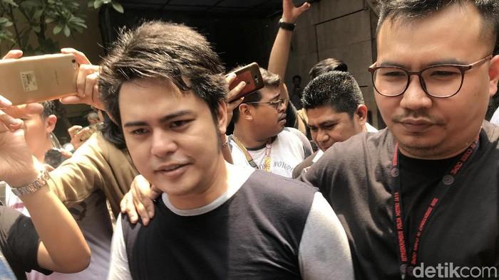 Galih Ginanjar saat ditemui di Polda Metro Jaya.