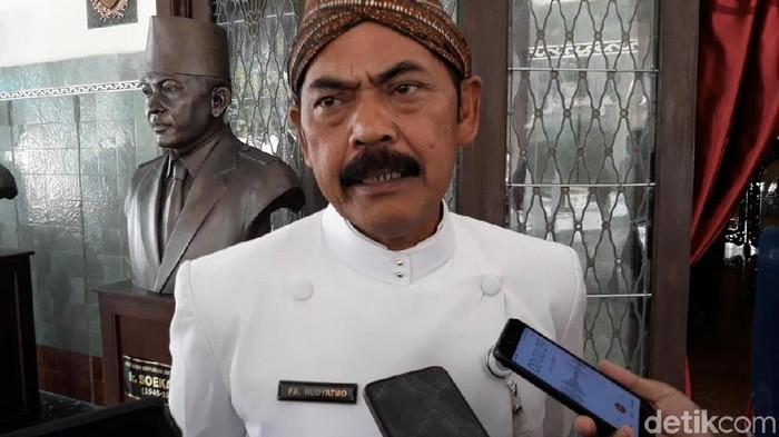 Wali Kota Solo, FX Hadi Rudyatmo, Kamis (24/10/2019).