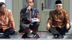 Masih Ingat Posisi Kaki Jokowi yang Viral? Ini Analisis Ahli Orthopedi