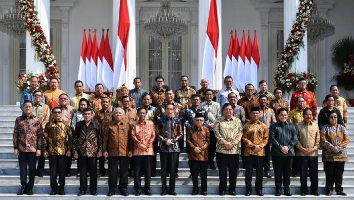 Kabinet Indonesia Maju (Foto: BPMI Setpres)
