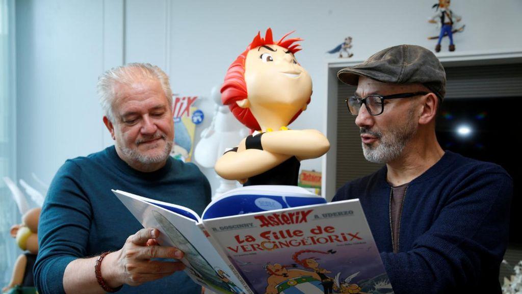Ada Karakter Perempuan Baru Bernama Adrenaline di Komik Asterix