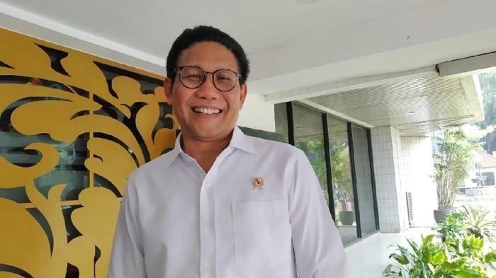 Mendes PDTT Abdul Halim Iskandar (Wilda/detikcom)