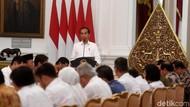 Buka Sidang Kabinet, Jokowi: RPJMN Bukan Dokumen Formalitas