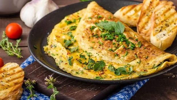 Sarapan Praktis Bergizi dengan Roti dan Telur yang Nikmat