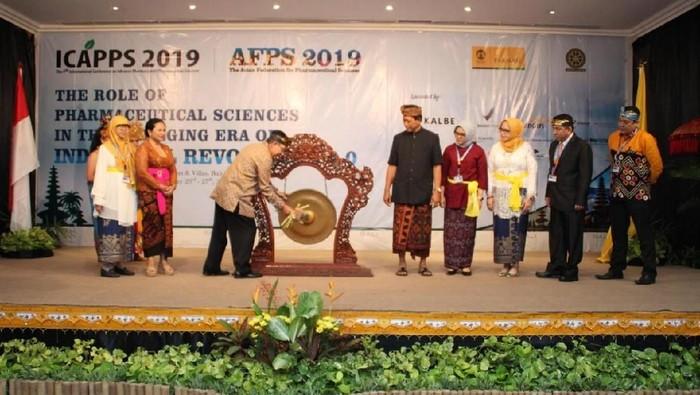 Pembukaan ICAPPS-AFPS 2019. (Foto: dok. Fakultas Farmasi Universitas Indonesia)
