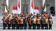 Jokowi ke Kabinet: Kerja Tim Bukan Kerja Menteri Per Menteri
