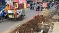 Proyek Galian Menganga di Pinggir Jalan, Pemko Medan Beri Penjelasan