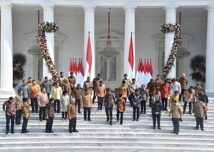 Foto ilustrasi Kabinet Indonesia Maju (BPMI Setpres)