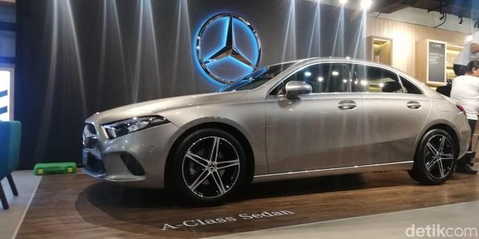 Akhirnya, Mercedes-Benz Sedan A-Class sapa Indonesia
