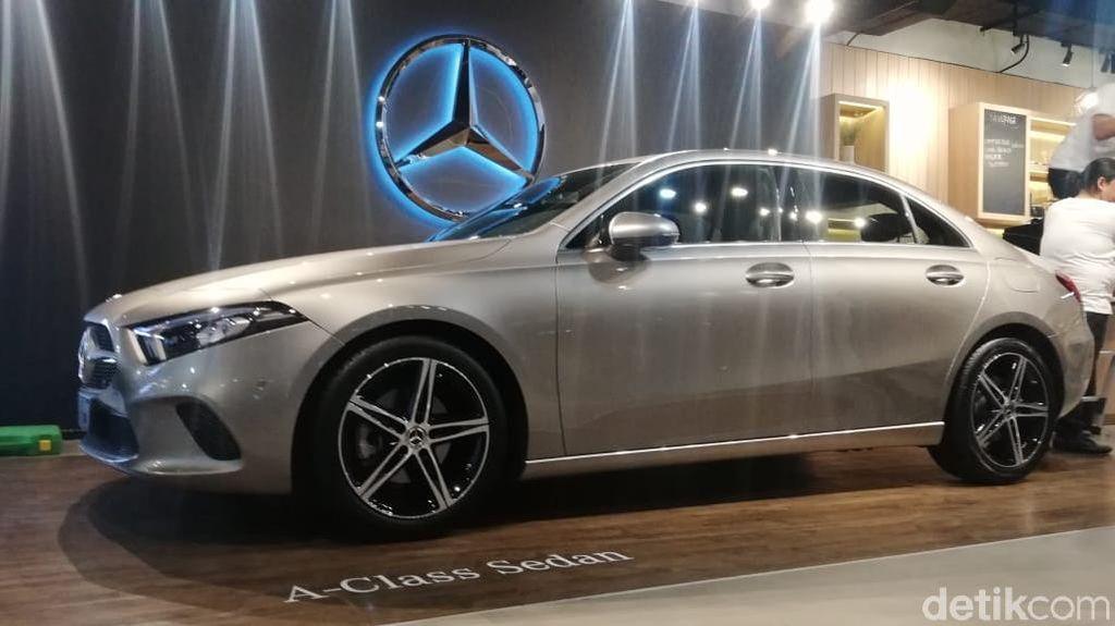 Mengulik Spesifikasi Sedan Terbaru Mercedes-Benz A-Class