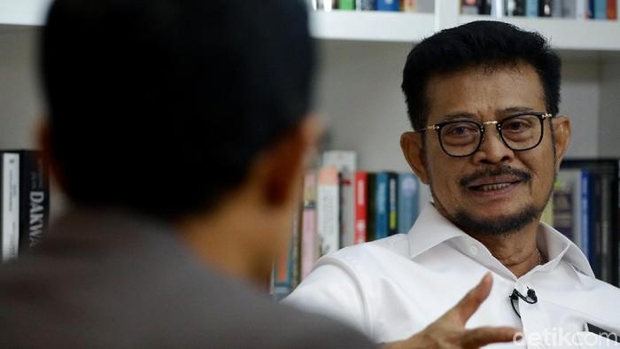 Menteri Pertanian Syahrul Yasin Limpo Kabinet Kerja II