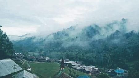 Salu Makki, permukiman di tengah hutan