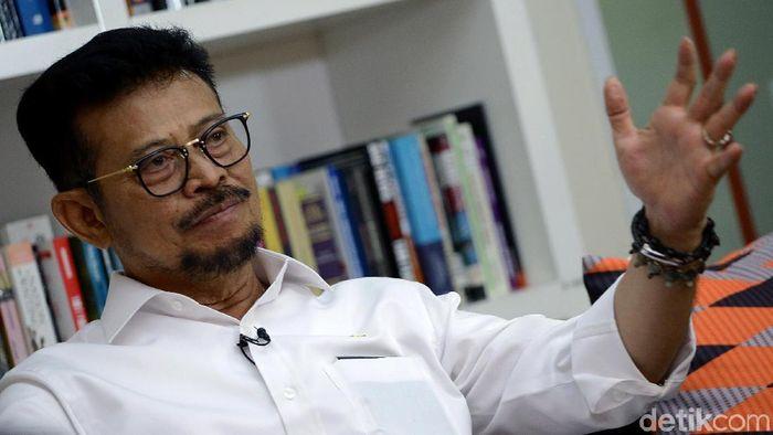 Menteri Pertanian Syahrul Yasin Limpo/Foto: Muhammad Ridho