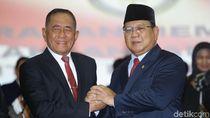 Ryamizard untuk Menhan Prabowo Sang Teman Sekompi