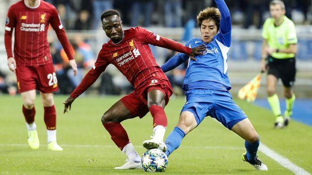 Liverpool meraih kemenangan saat bertandang ke markas Genk.