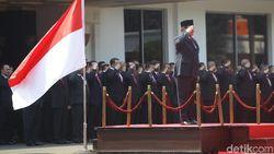 Tak Upacara Bersama Jokowi, Menhan Prabowo Peringati Hari Pahlawan di Yogya