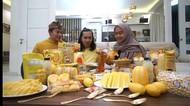 Jadi Trending YouTube, Ria Ricis Seharian Makan Makanan Warna Kuning