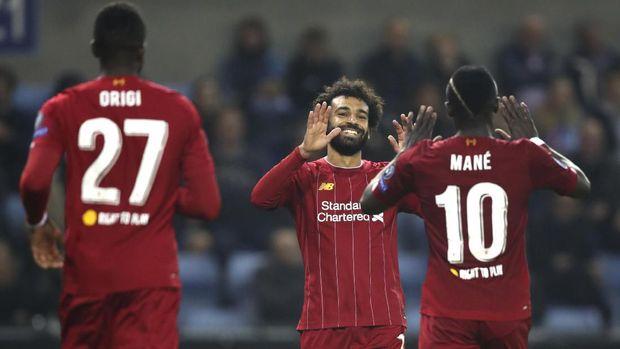 Liverpool belum terkalahkan di Liga Inggris musim ini.