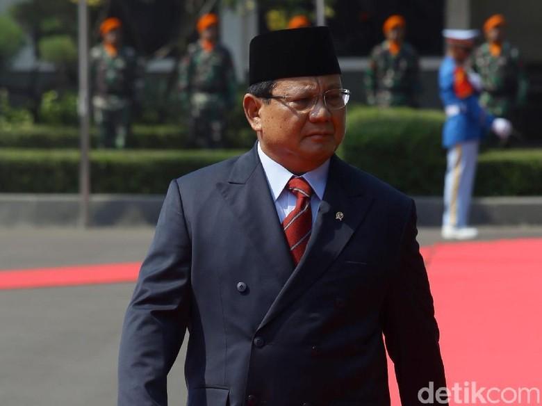 Menteri Pertahanan Prabowo Subianto. Foto: Grandyos Zafna