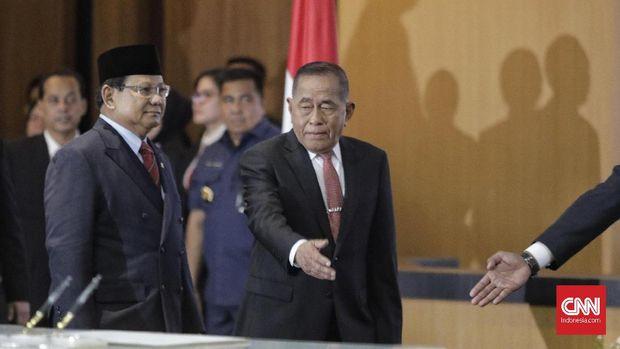 Prabowo Enggan Beberkan Konsep Pertahanan ke Publik