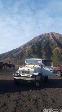 Uji Coba Jaringan di Gunung Bromo, Sinyal Smartfren Mentok