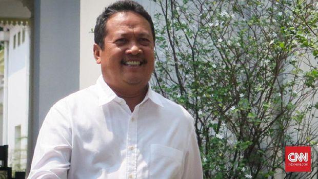 Wamenhan Sakti Wahyu Trenggono membuka Rapim Kemenhan 2020.