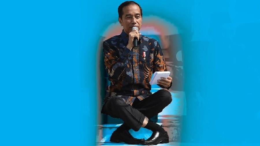 Viral #JokowiChallenge