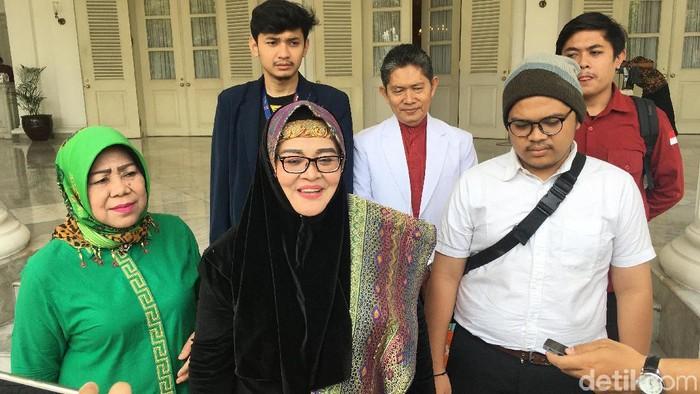 Foto: Faisal Amir di Balai Kota DKI usai temui Anies Baswedan (Arief-detikcom)