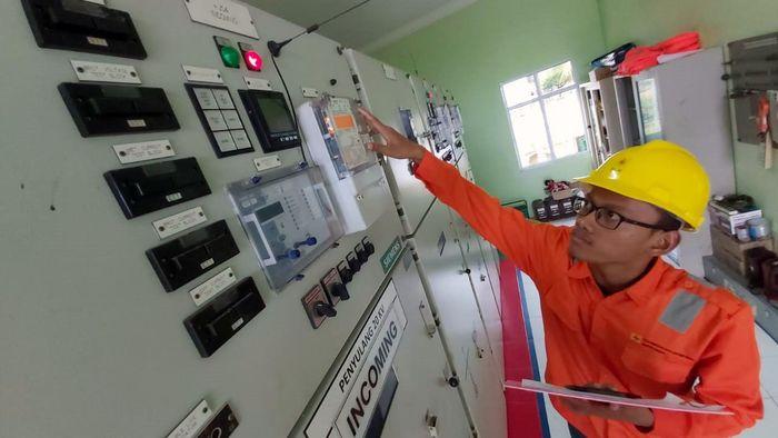 Pembangunan Gardu Induk Pulau Ngenang ini merupakan salah satu komitmen PLN untuk mendorong tumbuhnya ekonomi di daerah 3T (Tertinggal, Terdepan, dan Terluar) di Indonesia. Istimewa/Dok. PLN.