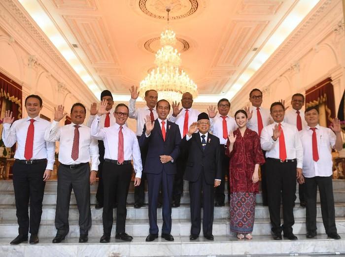 Dari 12 wakil menteri pilihan Presiden Joko Widodo atau Jokowi, Angela Tanoesoedibjo menjadi satu-satunya perempuan sekaligus yang termuda di kelompok elite tersebut. (Foto: Antara Foto)