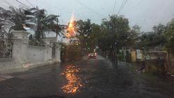 Hujan Deras Guyur Medan, Sejumlah Lokasi Banjir