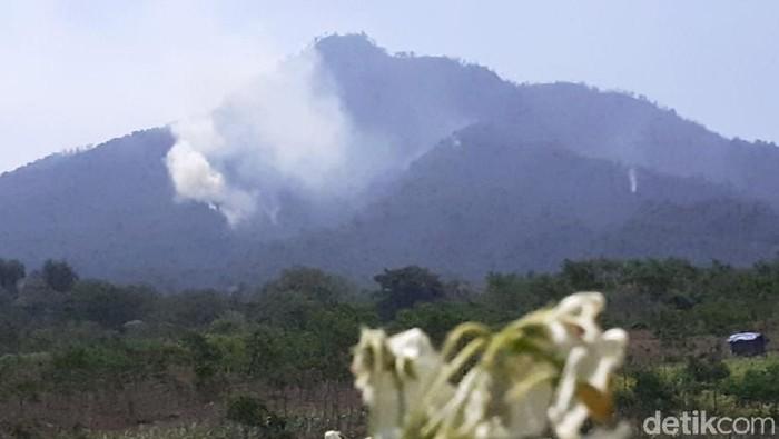 Kebakaran di Pegunungan Ijen/Foto: Ardian Fanani