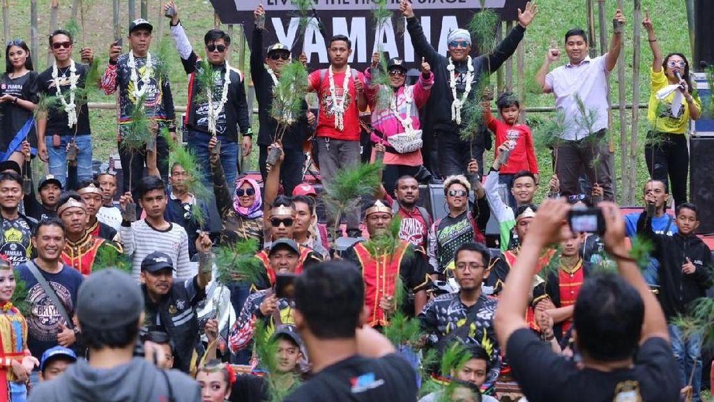 Jelajahi Indonesia, MAXI Yamaha Day Berakhir di Dieng