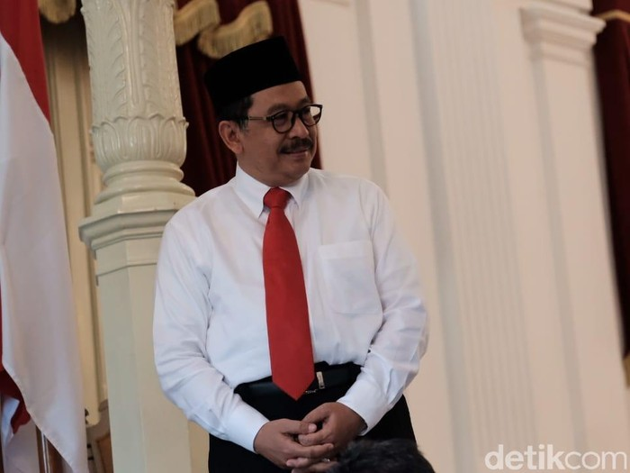 Wakil Menteri Agama, Zainut Tauhid (Andhika Prasetia/detikcom)