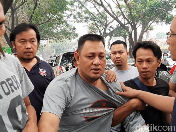 Yudi, otak pelaku pembunuhan mayat dicor di Palembang, Sumsel.