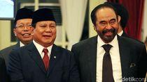 Prabowo-Paloh Riang Gembira di Pelantikan Wamen