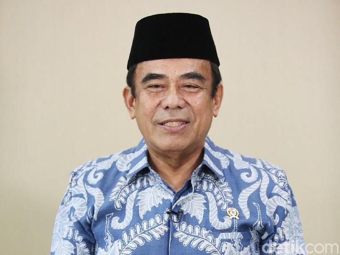 Menteri Agama Fachrul Razi (Agung Pambudhy/detikcom)