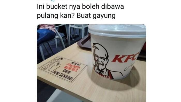 Foto: twitter @kfcindonesia