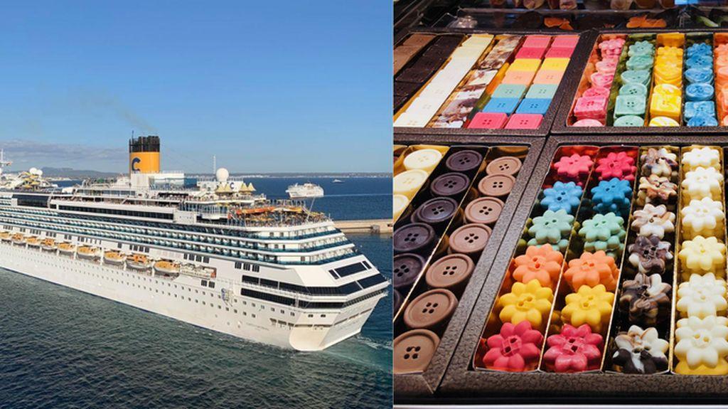 Pecinta Cokelat Tahun Depan Bisa Nikmati Pelayaraan Kapal Pesiar Tema Cokelat