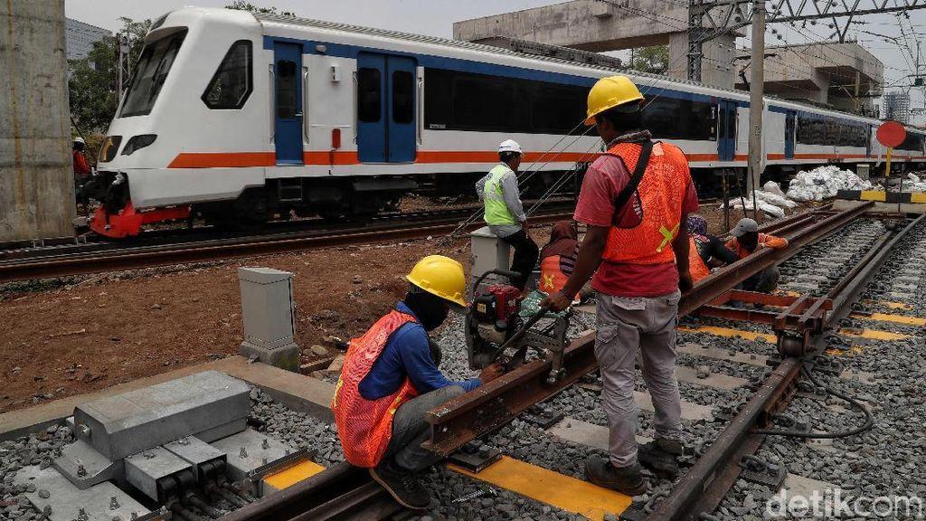 Penambahan Jalur KRL Commuter Line di Manggarai